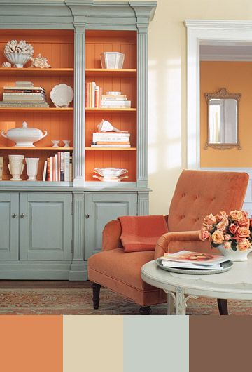 5 tips for decorating with orange miss mustard seeds milk paint